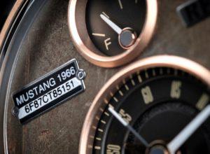 885bf3e9d7951 Ford Mustangs são transformados em relógios artesanais de luxo na Europa.